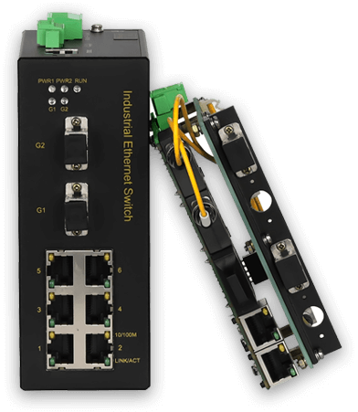 ethernet switch for water treatment plant