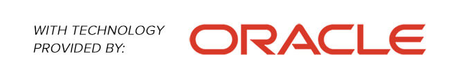 With Technology Powered by Oracle